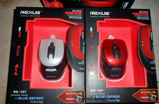 Mouse Wireless (tanpa kabel) rexus