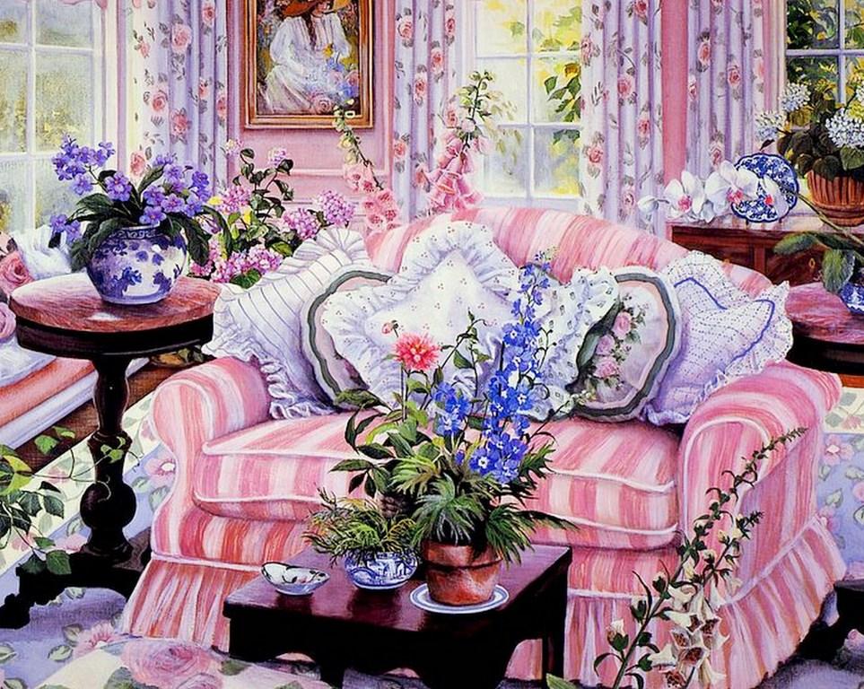 Pintura moderna y fotograf a art stica bodeg n colores suaves susan r os usa - Cuadros de colores ...