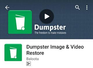 recylcle bin untuk android