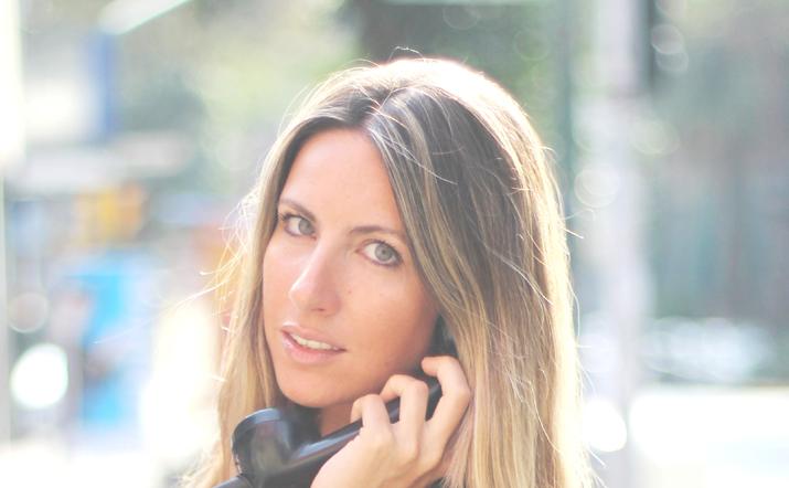 Spanish fashion blogger Mónica sors