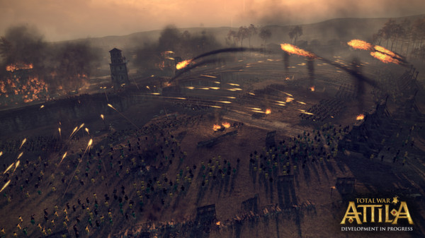 Total War ATTILA GAME PC MANTAB