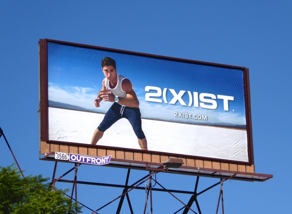 2Xist activegear billboard