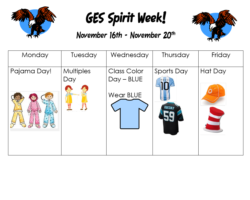 spirit week Homecoming spirit week theme: holla-halloween spirit week is september 25-30 with the homecoming game on friday night and the dance on saturday, september 30.