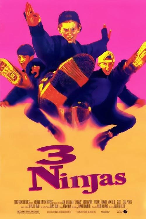3 Ninjas: Uma Aventura Radical – Dublado (1992)