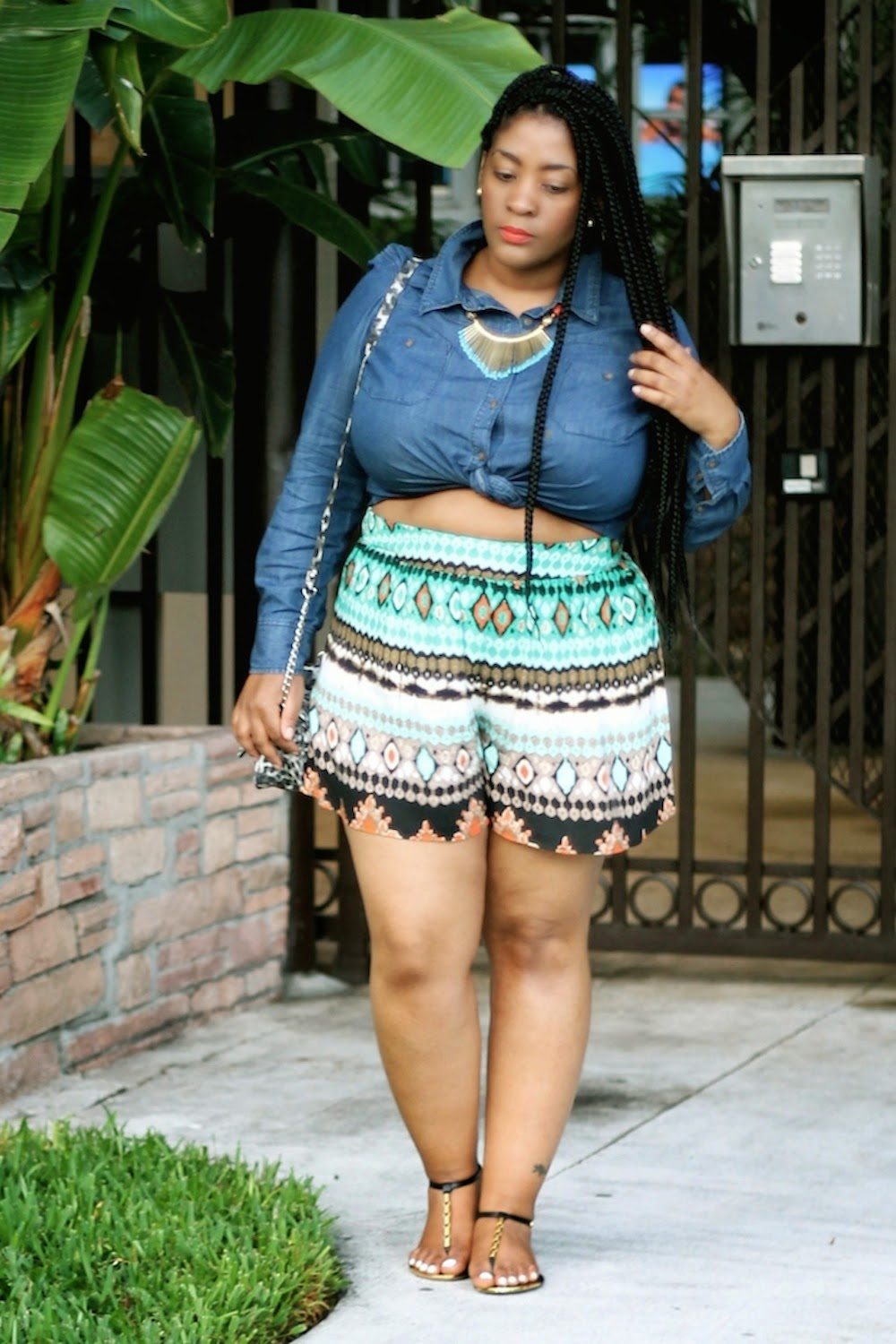 Miami Style Culottes And Makeshift Crop Tops Style Chic 360