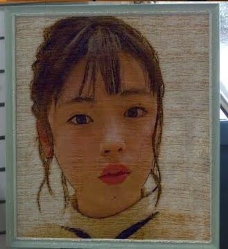 似顔絵・井手上漠さん<br>今輝いてる人を描きたいです。
