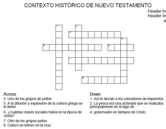 Adesivo De Parede Escritorio ~ COLEGIO CHUNIZA RELIGIÓNÉTICA CONTEXTO HISTÓRICO DEL NUEVO TESTAMENTO