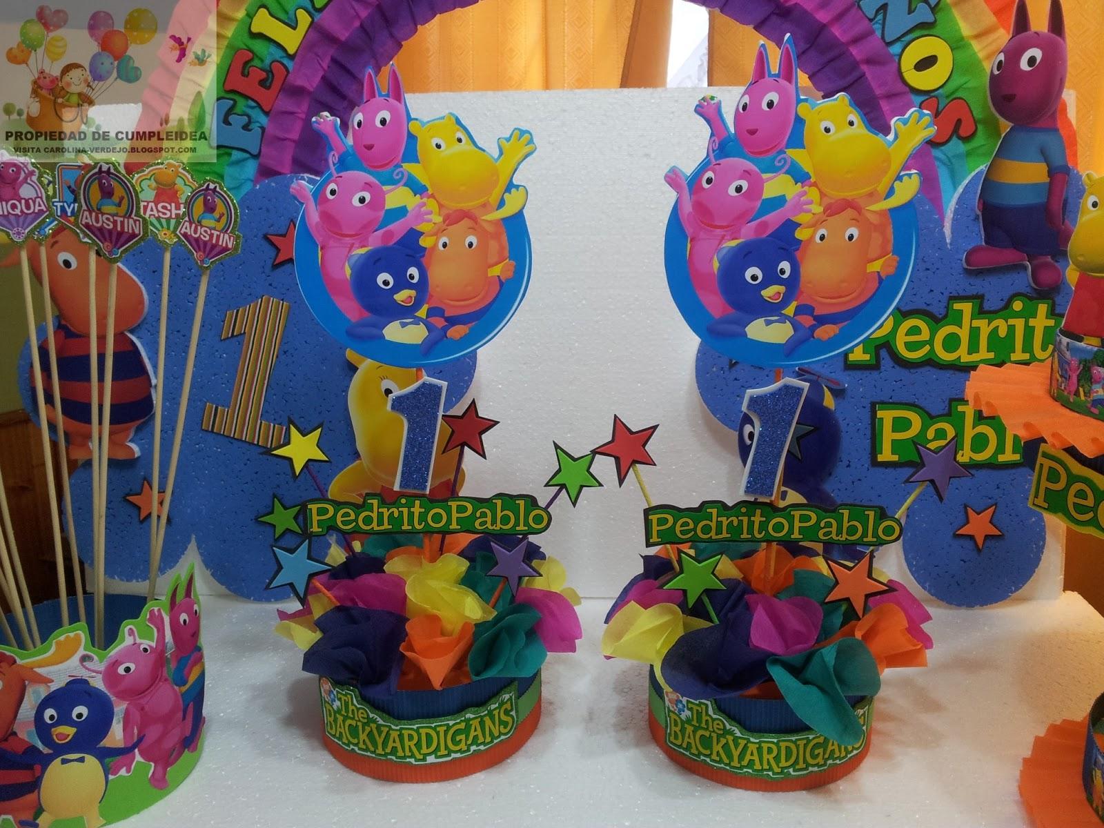 Decoraciones de fiestas infantiles para un ao car for Decoraciones para fiestas