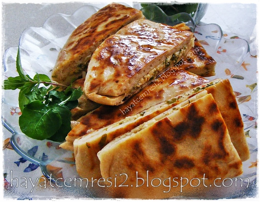 cokelekli peynirli bazlama ekmek 5