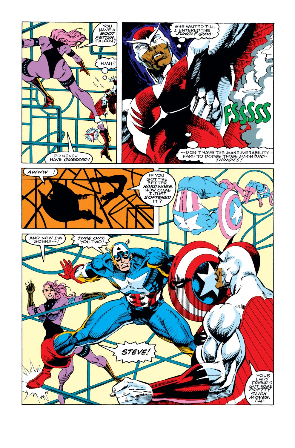 Captain America (1968) Issue #411 #360 - English 4