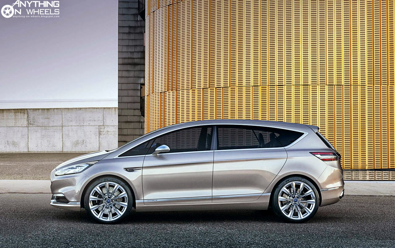 anything on wheels ford s max vignale concept looks stunning. Black Bedroom Furniture Sets. Home Design Ideas