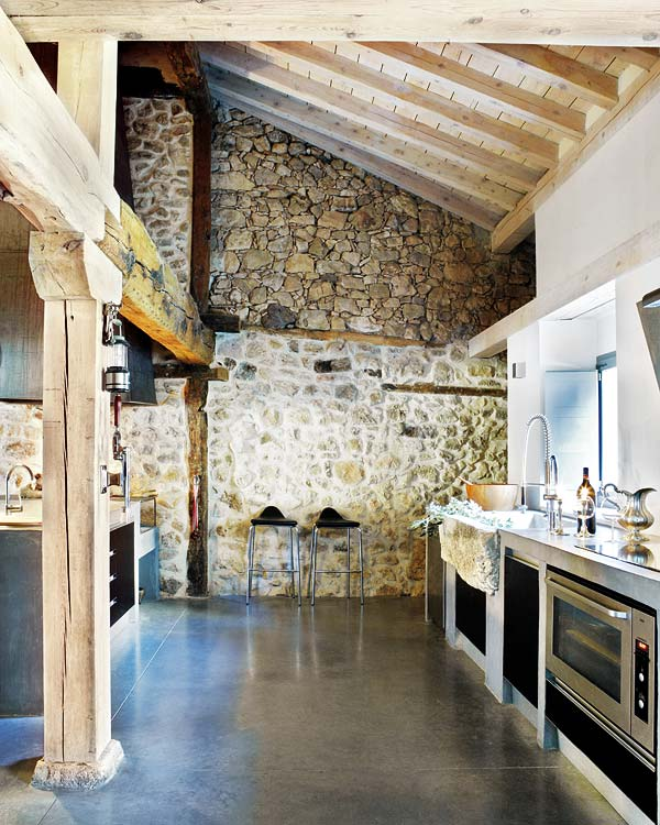 kitchen crush a grand scale - Rustic Modern Kitchen 2