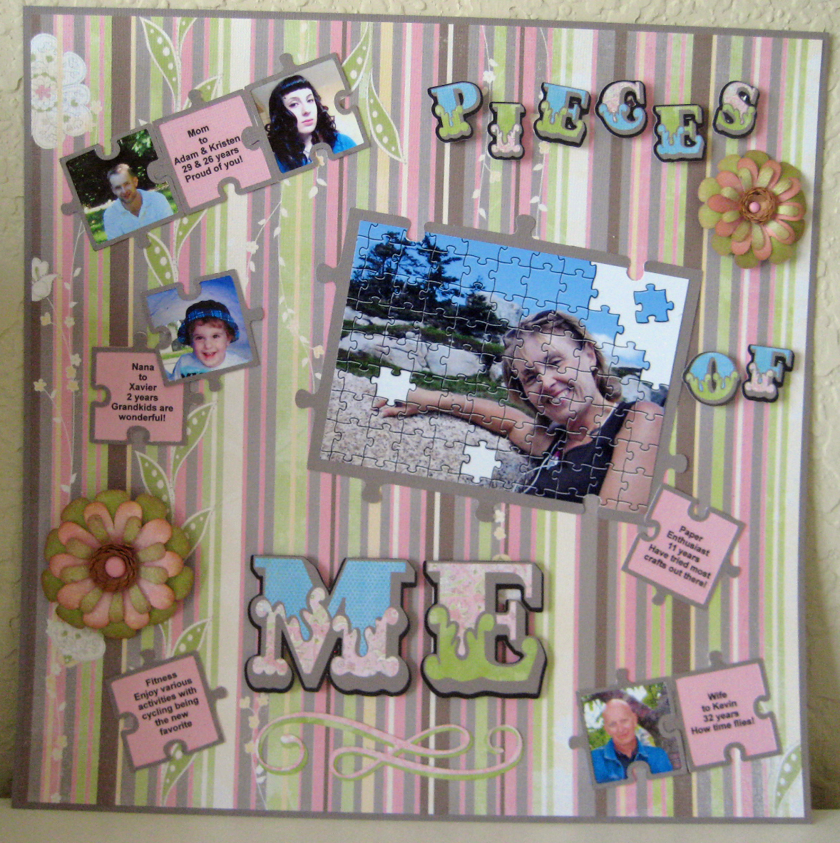 Scrapbook ideas many pictures - Scrapbook Ideas About Me I Love To Scrapbook But Not About Me It Took Me