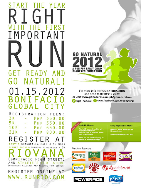 join go natural 2012 and run for a diabetes free future