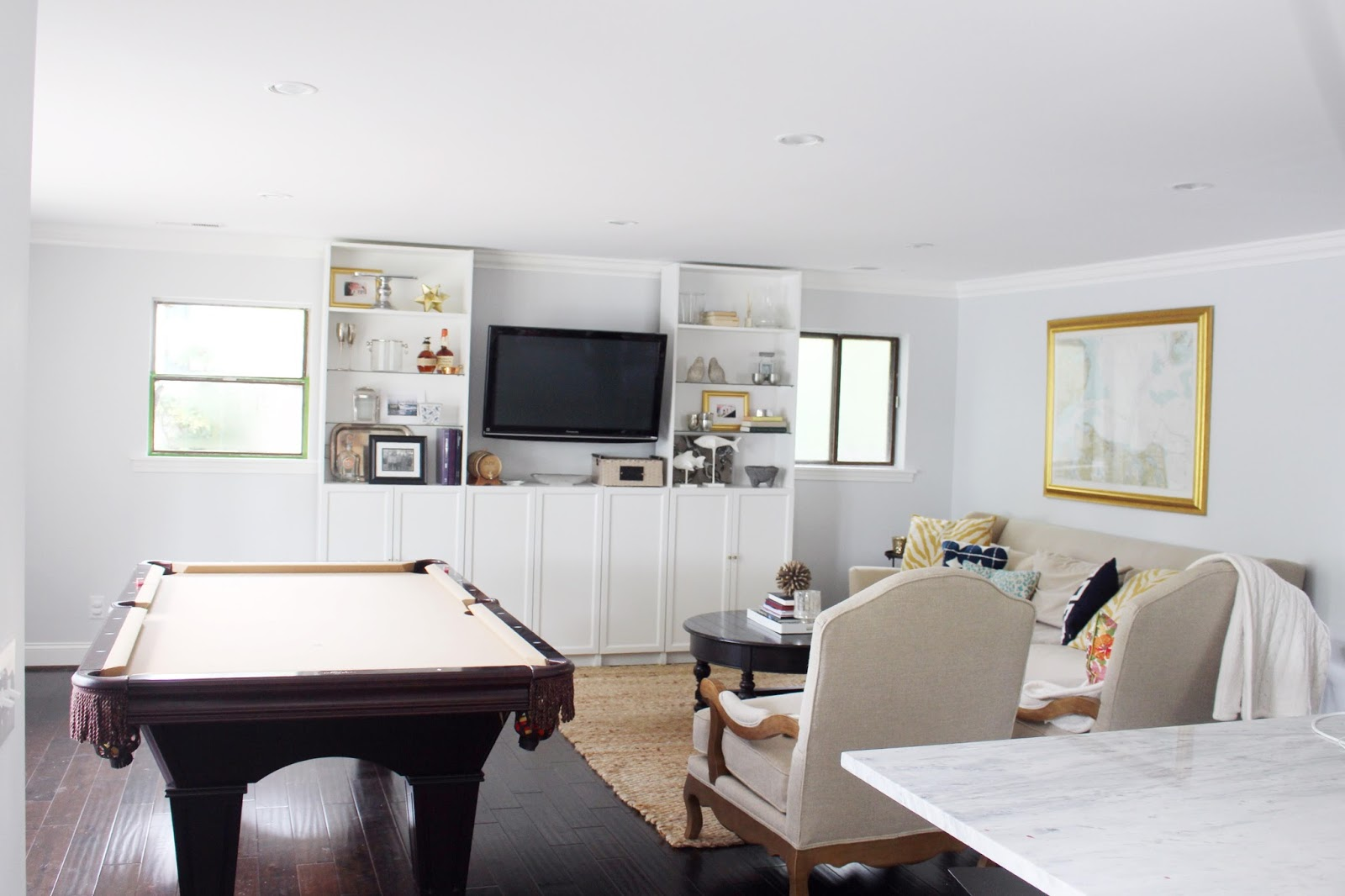 The Battleground Living Room with Jonathan Louis Furniture | Olive ...