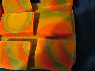 Lemon, Lime, and Orange Soap