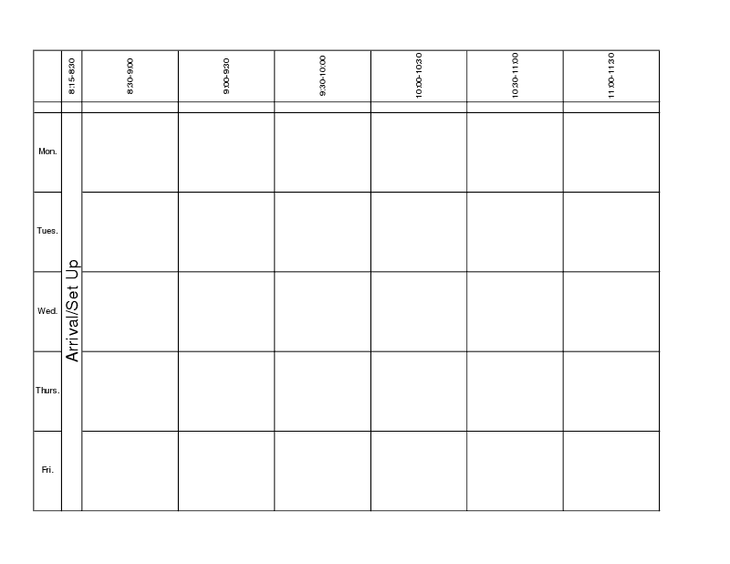 lesson plan book template