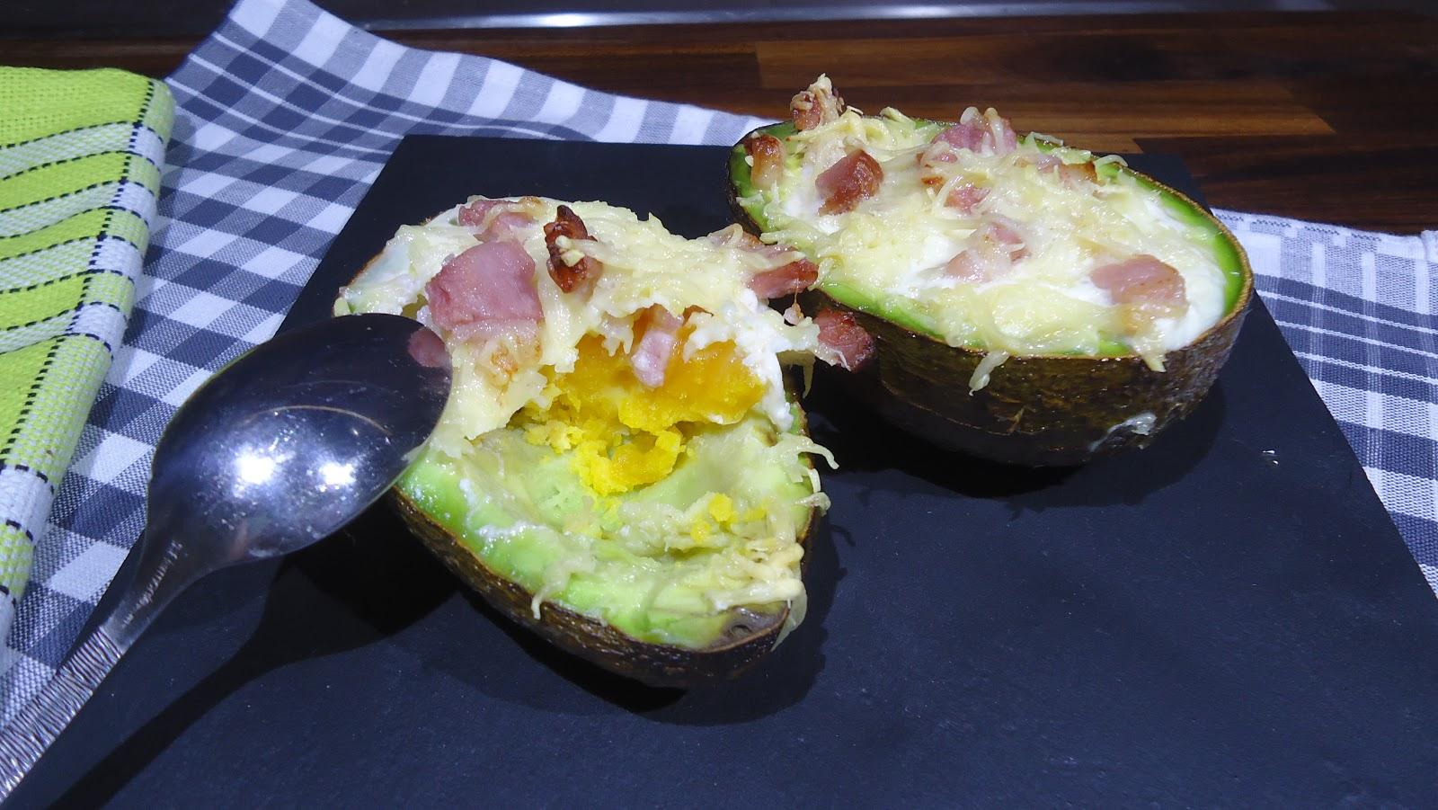Запеченное авокадо рецепт