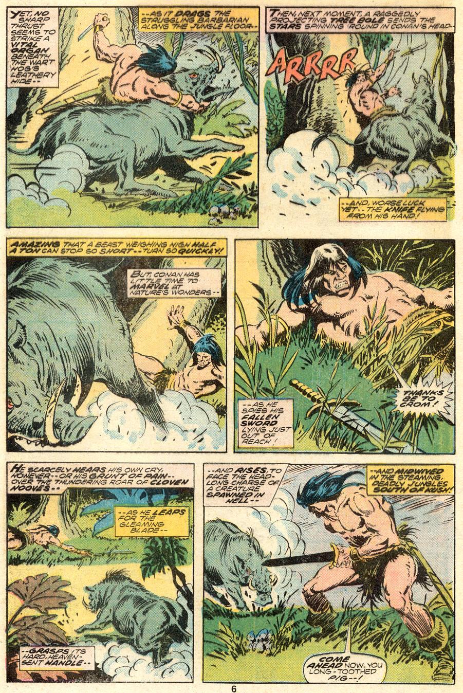 Conan the Barbarian (1970) Issue #62 #74 - English 5