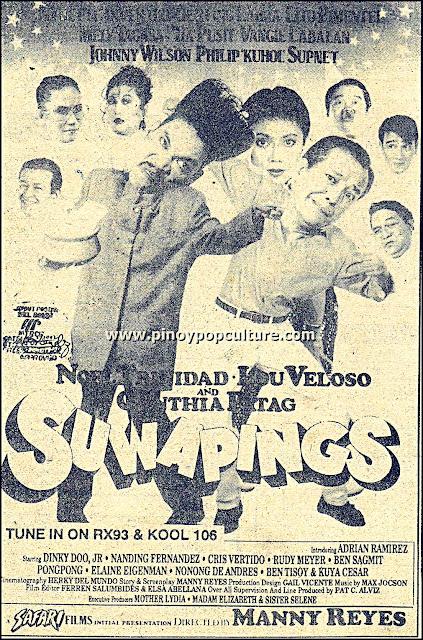Suwapings, Safari Films, Manny Reyes, Lou Veloso, Noel Trinidad, Cynthia Patag