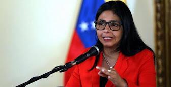 Delcy Rodríguez: Almagro no va a renunciar porque no tiene vergüenza
