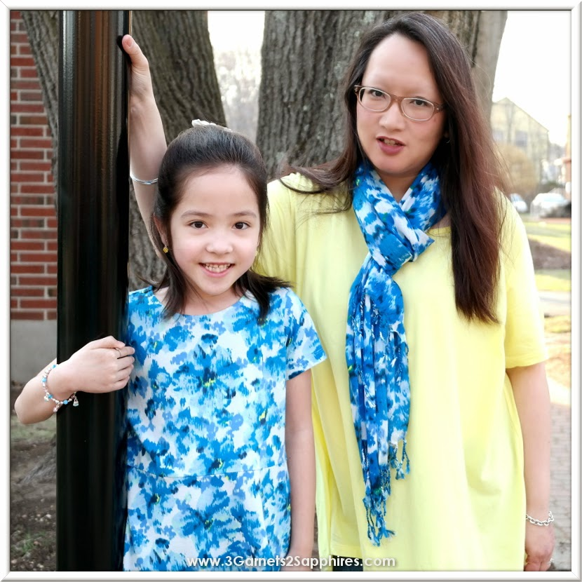 Mother and daughter spring fashions from Lands' End. So cute for Mother's Day!