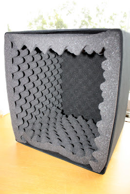 How to Make a Portable Acoustic-Absorbing Box