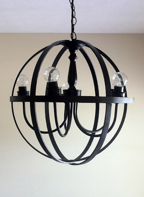 Orb Chandelier DIY