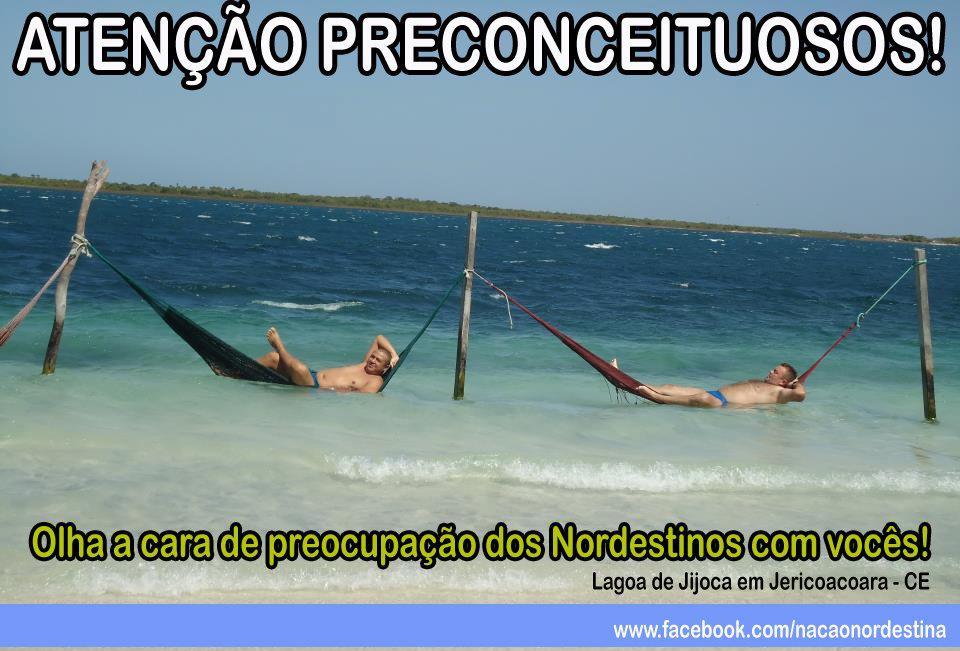 Enquanto isso, no Nordeste do Brasil! - Frases engraçadas