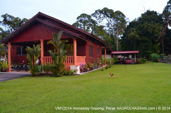 Salah sebuah rumah Homestay Gopeng, Perak - VMY2014 Tourail Package