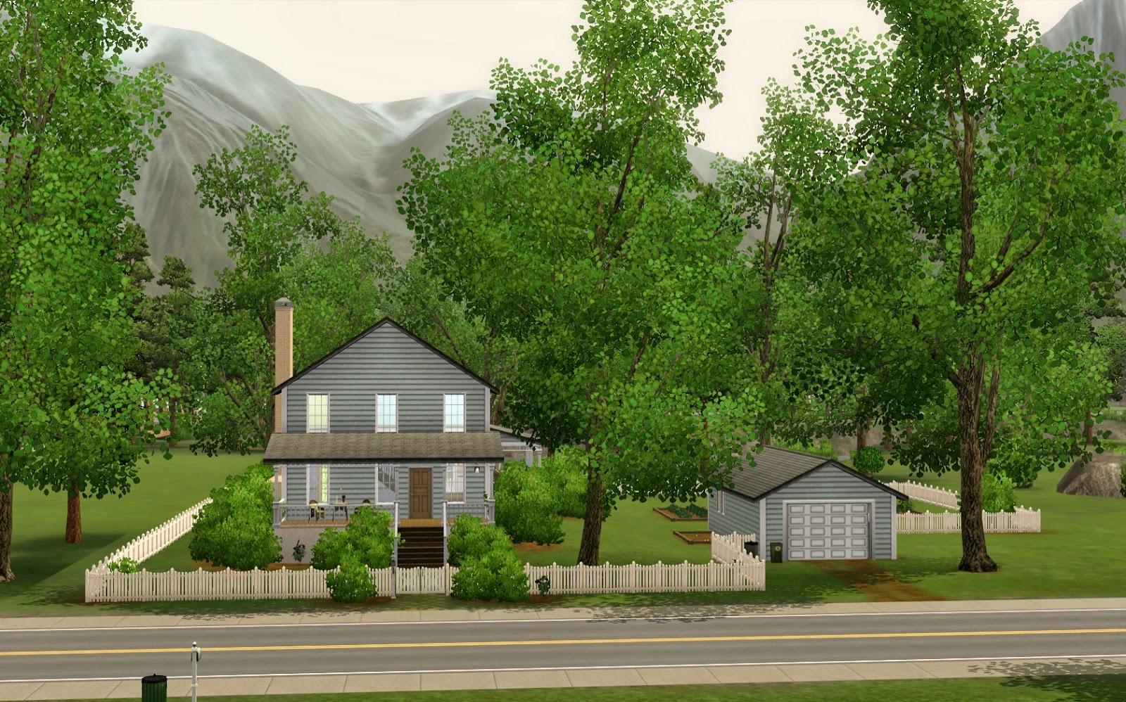 Summers Little Sims 3 Garden Moonlight Falls The 3 Supernatural List Of Houses
