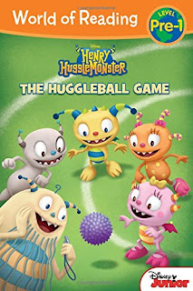 World of Reading: Henry Hugglemonster The Huggleball Game