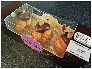 Tesco Billionaire's Profiteroles