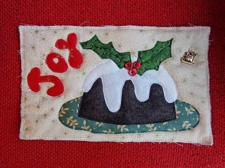 Christmas Postcard Swap bij Sheila. Klik op foto voor info