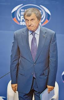 Президент «Роснефти» Игорь Сечин. Фото