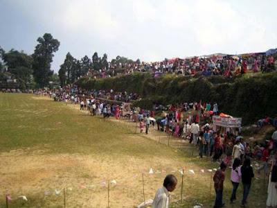 Mungpoo Annual Diwali Sports Meet at public ground