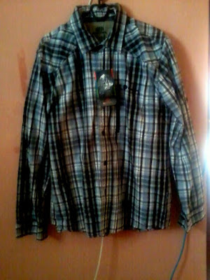 Model Baju baju atasan Flanel Eiger Lengan Panjang
