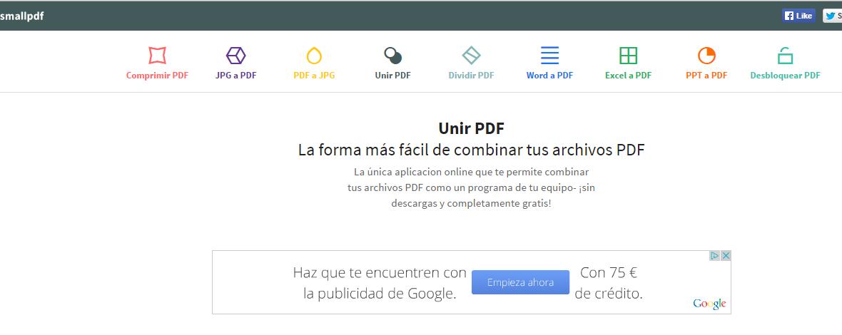 pasar varios archivos jpg a pdf