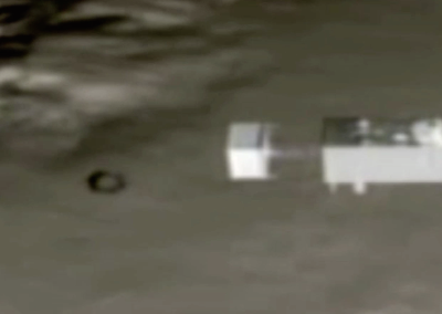 Disc UFO Matches Space Station Speed 2015, UFO Sighting News