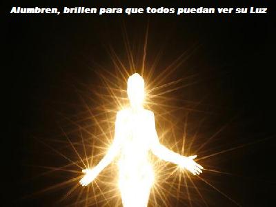 Estás parado en la Luz y la Luz es toda tu historia.