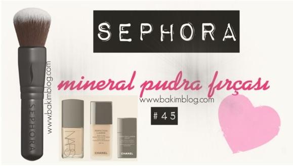 sephora mineral brush 45