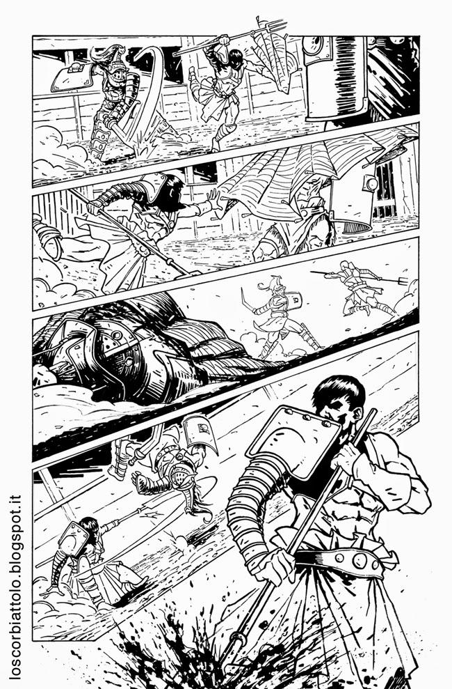 icon 1 e la squadra alpha pagina 21 chine inchiostri mirko treccani gladiatori gladiators inks