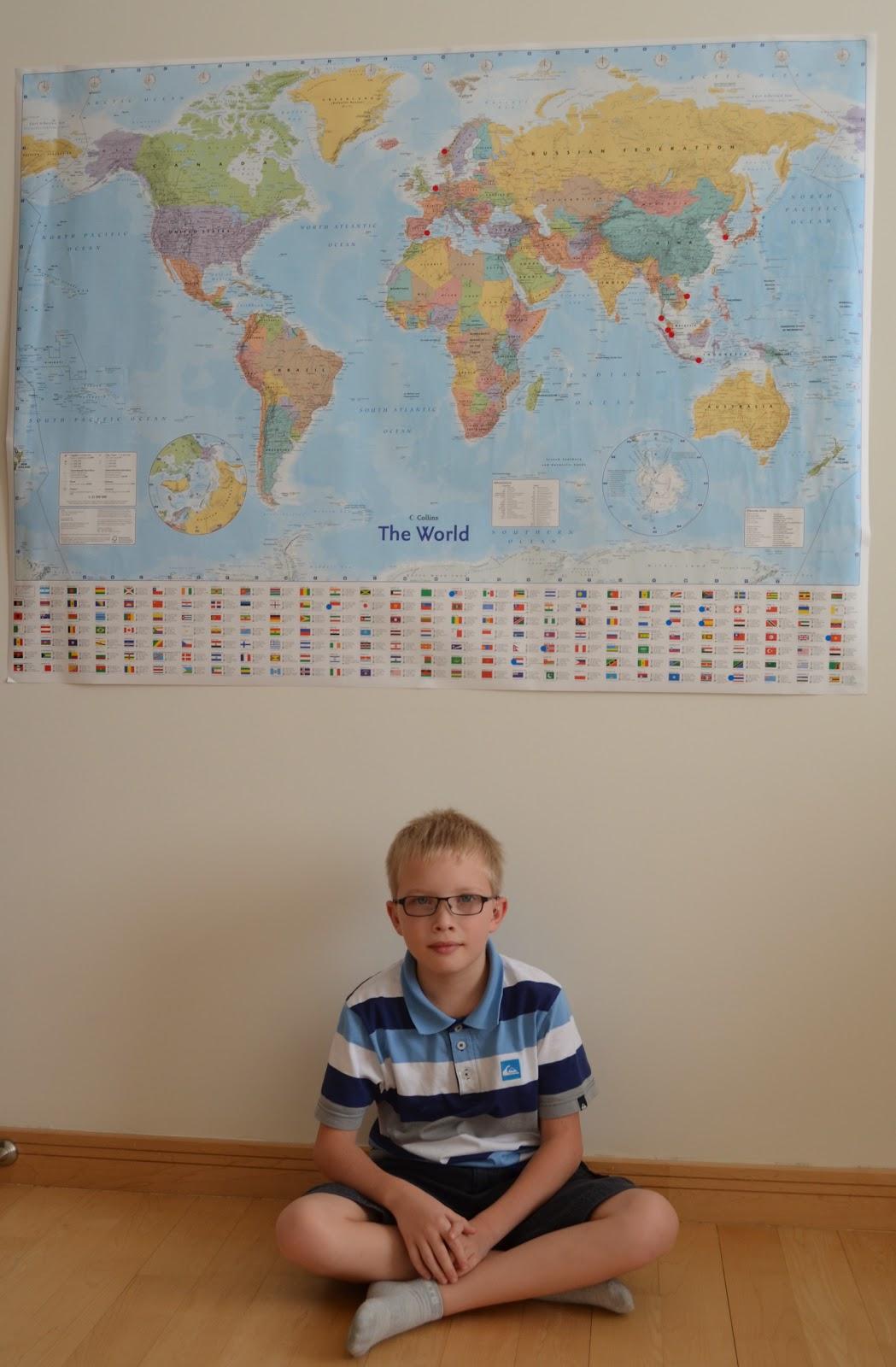 verdenskart med navn