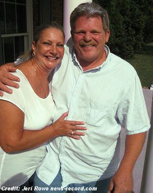Kent Senter and his wife, Patty