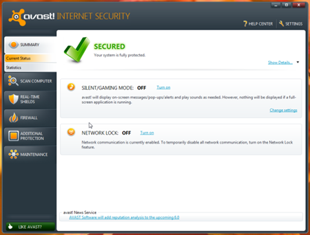 Antivirus Terbaik Avast