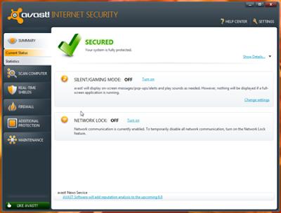 download antivirus terbaru dan terbaik dari Avast tahun 2012