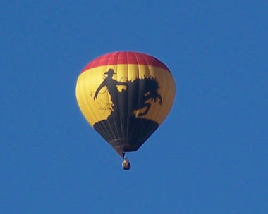 Rodeo ballon in Co. Springs. Co