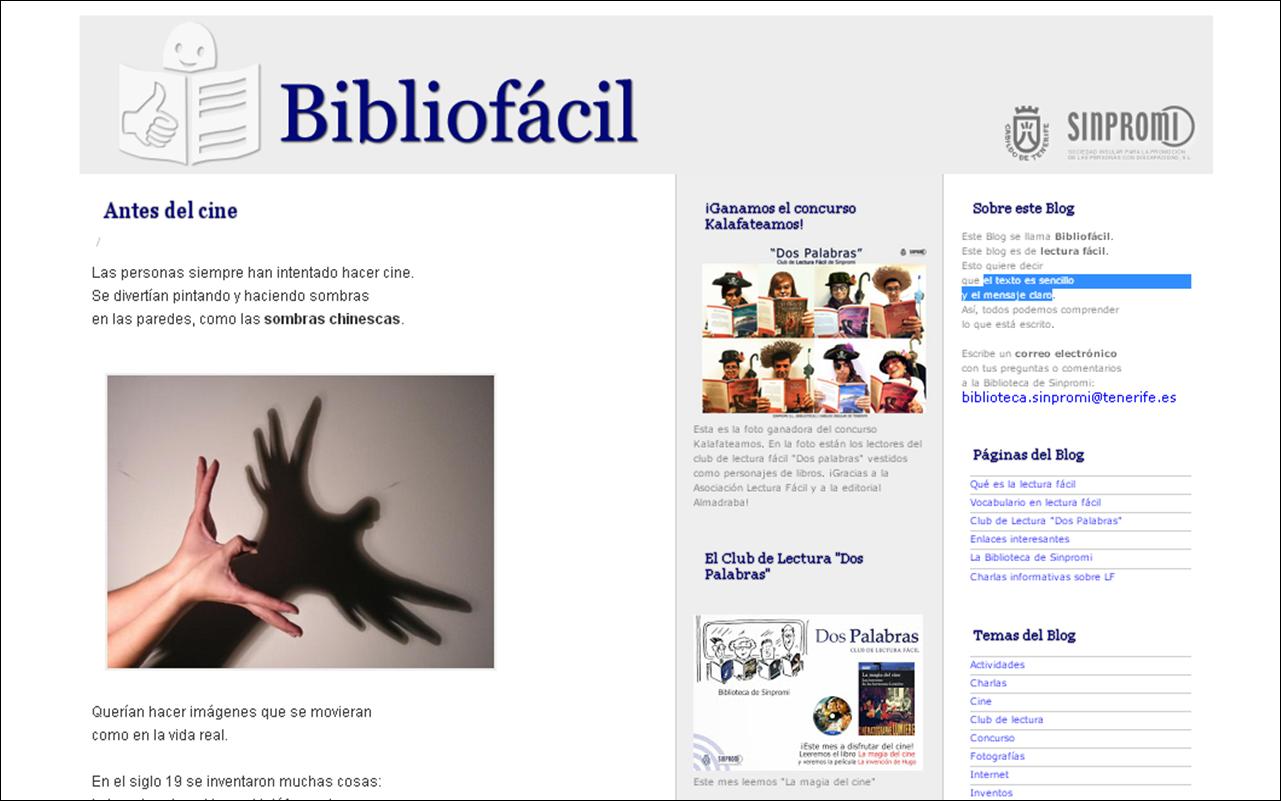 El Club de Lectura Fácil de Sinpromi gana un concurso de la editorial Almadraba
