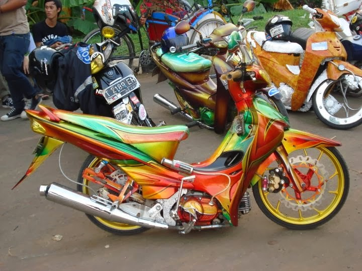 foto modifikasi jupiter z 2009