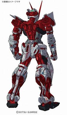 Real Grade Gundam Astray Red Frame official concept art 01